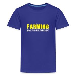 Back and forth Kids - Kids' Premium T-Shirt
