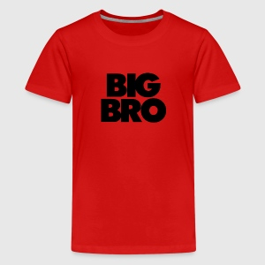 Big BRO new big brother to be - Kids' Premium T-Shirt