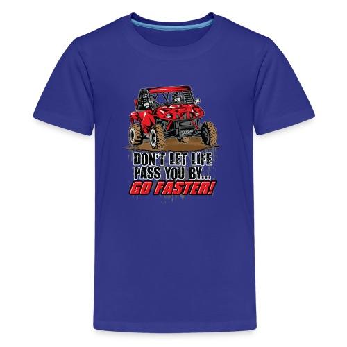 UTV SxS Go Faster - Kids' Premium T-Shirt
