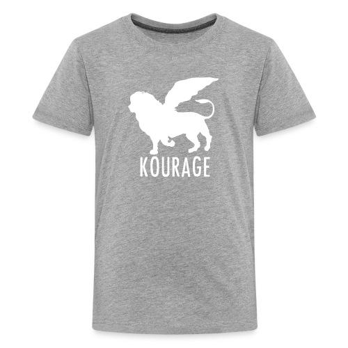 Kourage Kids Logo T-Shirt - Kids' Premium T-Shirt