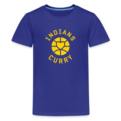 Indians Love Curry Kids Shirt - Kids' Premium T-Shirt