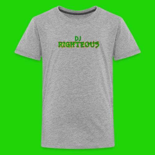 Kids' Premium T-Shirt - Logo of world famous DJ Righteous