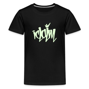 ICLAIM Children's Glow In The Dark Tag - Kids' Premium T-Shirt
