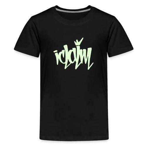 ICLAIM Children's Glow In The Dark Tag - Kids' Premium T-Shirt