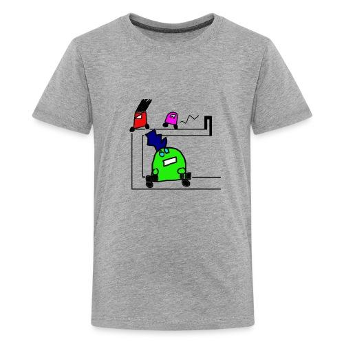 Robot Autocross - Kids' Premium T-Shirt