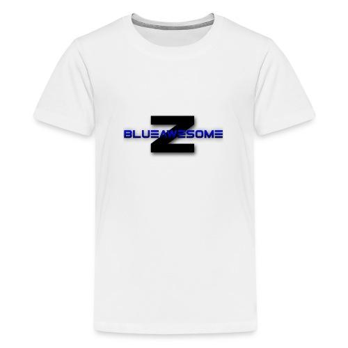 ZBLUEawesome Logo - Kid's Tshirt - Kids' Premium T-Shirt