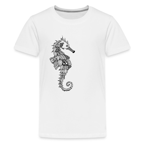 South Seas Seahorse Kid's T-Shirt by American Apparel - Kids' Premium T-Shirt