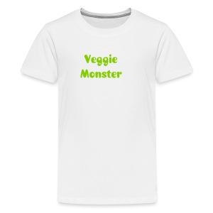 Kid's veggie monster t-shirt - Kids' Premium T-Shirt