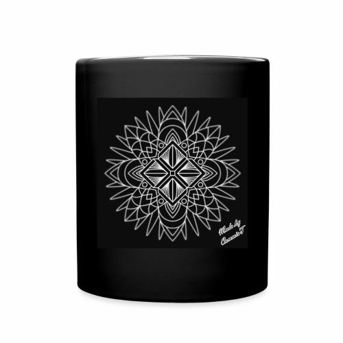 ABSTRACT SNOWFLAKE  - Full Color Mug