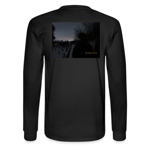 graveyard shadows - Men's Long Sleeve T-Shirt