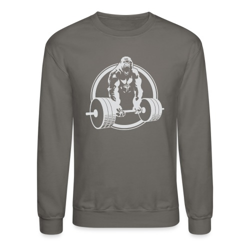 CLASSIC Gorilla Lifting Fitness Beast Cross Design - Crewneck Sweatshirt