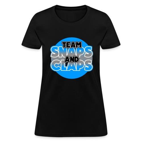 Team Snaps and Claps (SILVER) Women's T-Shirt - Women's T-Shirt