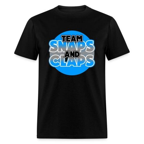 Team Snaps and Claps (SILVER) Men's T-Shirt - Men's T-Shirt