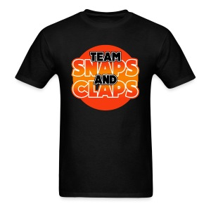 Team Snaps and Claps (RED) Men's T-Shirt - Men's T-Shirt
