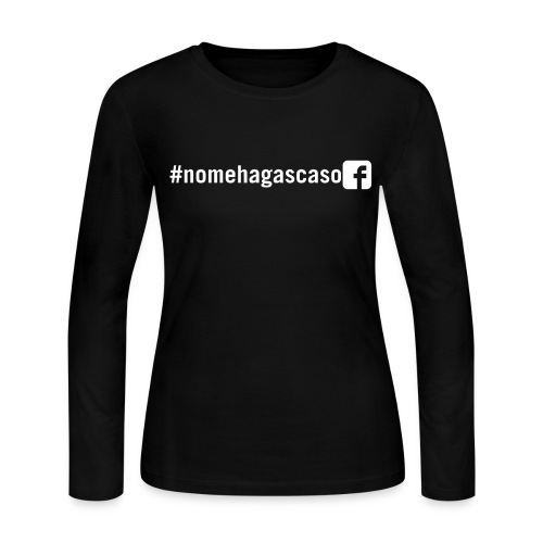 #nomehagascaso Women's Long Sleeve T-Shirt - Women's Long Sleeve Jersey T-Shirt