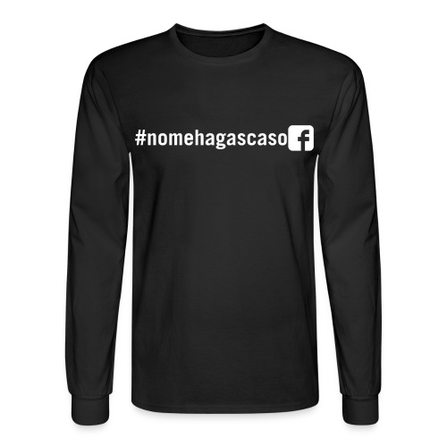 #nomehagascaso Men's Long Sleeve T-Shirt - Men's Long Sleeve T-Shirt