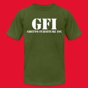 GFI T-Shirt - Men's T-Shirt by American Apparel