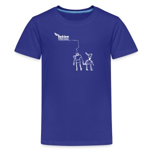 Kid's RioBots (Royal Blue) by Rocktane Clothing - Kids' Premium T-Shirt