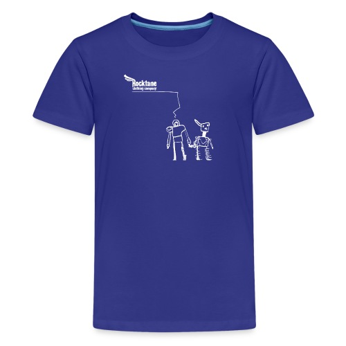 Kid's RioBots (Royal Blue) by Rocktane Clothing - Kids' Premium T-Shirt
