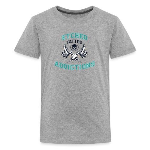 Kids Etched Addictions Tee - Kids' Premium T-Shirt