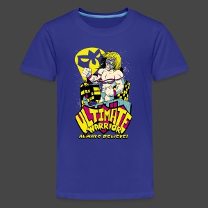 Ultimate Warrior Bat Signal Kids T Shirt - Kids' Premium T-Shirt