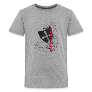 American Apparel Distressed Shield T-Shirt - Kids' - Kids' Premium T-Shirt