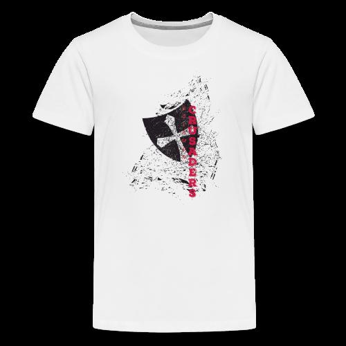 American Apparel Distressed Shield T-Shirt - Kids' - Kids' Premium T-Shirt