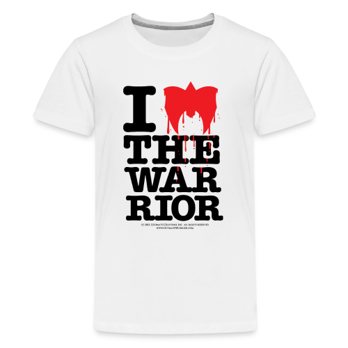 Ultimate Warrior I Love The Warrior Kids T Shirt - Kids' Premium T-Shirt