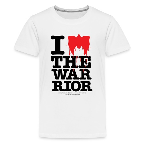 Ultimate Warrior I Love The Warrior Kids T Shirt - Kids' Premium T-Shirt