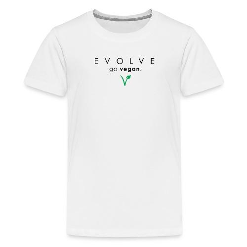 Evolve Go Vegan Kid's T-Shirt - Kids' Premium T-Shirt