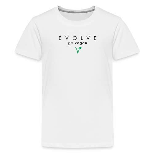 Evolve Go Vegan Kid's T-Shirt - Kids' Premium T-Shirt