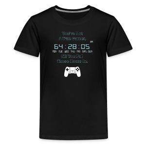 True Gamer Hours PS4 Kid's T-Shirt - Kids' Premium T-Shirt
