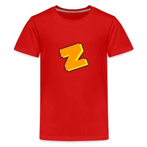 Zipomatic T-Shirt Kids (RED) - Kids' Premium T-Shirt