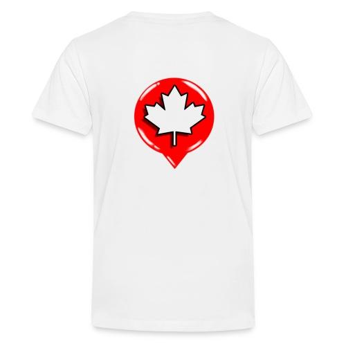 WCL WHITE TSHIRT - Kids' Premium T-Shirt