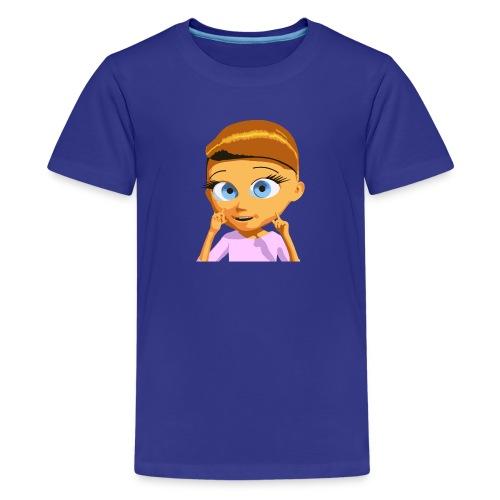 Girl T-Shirt tinyschool - Kids' Premium T-Shirt