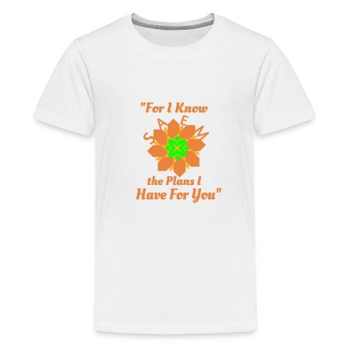 White T Shirt - Kids' Premium T-Shirt