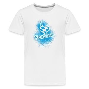 I Love Bavarian Soccer T-Shirt - Kids' Premium T-Shirt