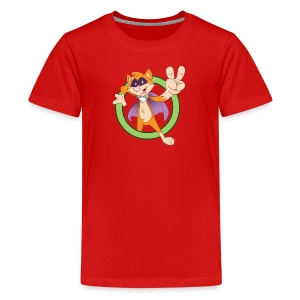 Kid's Sprocket: Nice Peace - Kids' Premium T-Shirt