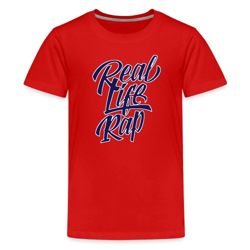 Kid's Real Life Rap T-Shirt - Kids' Premium T-Shirt
