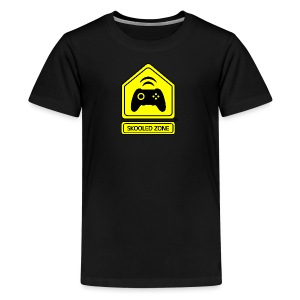 Skooled Zone Kid T-Shirt (Basic) - Kids' Premium T-Shirt