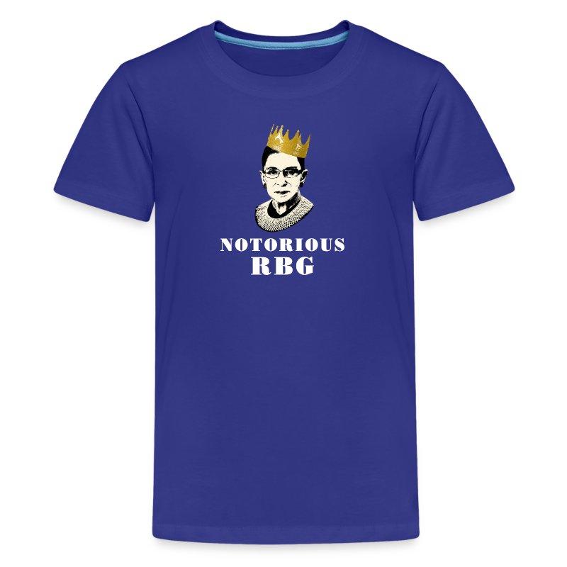 Notorious RBG t-shirt - Kids' Premium T-Shirt