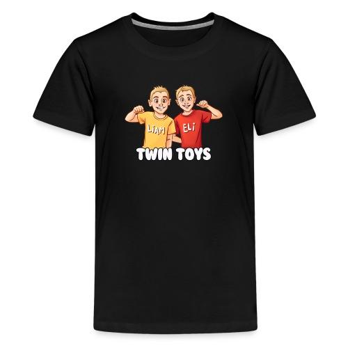 Twin Toys - Kid's T-Shirt by American Apparel - Kids' Premium T-Shirt