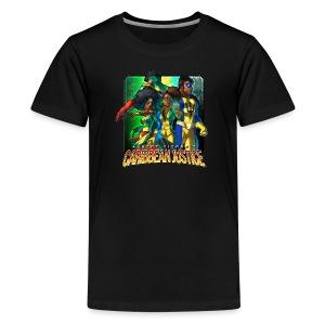 Caribbean Justice Legends (Special Edition) - Kids' Premium T-Shirt