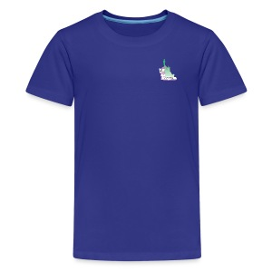 Lady Liberty Is An Immigrant, F&B - Kids' Premium T-Shirt