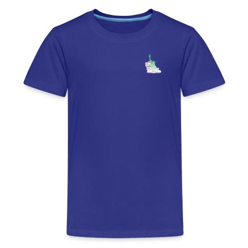 Lady Liberty Is An Immigrant, F&B - Kids' Premium T-Shirt