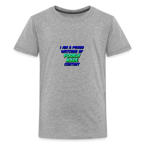 Poorly Made Content - Kid's T-shirt - Kids' Premium T-Shirt