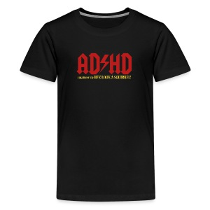 ADHD Highway to LOOK A SQUIRREL! Boys T-shirt - Kids' Premium T-Shirt