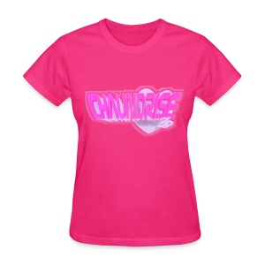 Blox3dnyc.com Heart2 design - Women's T-Shirt