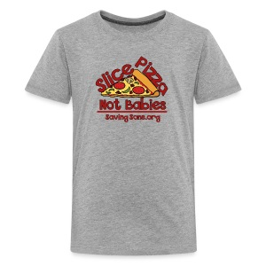 Slice Pizza Not Babies - Kids' Premium T-Shirt