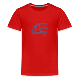 Tricycle Van - Kids' Premium T-Shirt